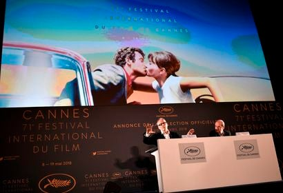 Press conference announcing lineup Cannes 2018