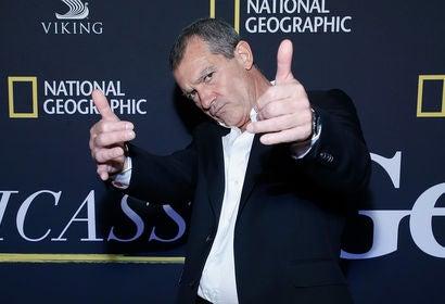 Acror ANtonio Banderas, Golden Globe nominee
