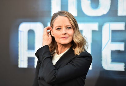 Acress and director Jodie Foster, Golden Globe winner