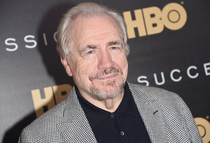 Actor Brian Cox, Golden Globe winner