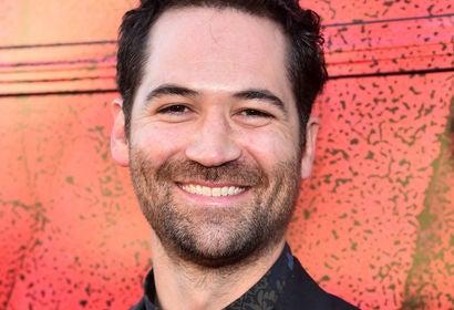 Actor Manuel Garcia Rulfo
