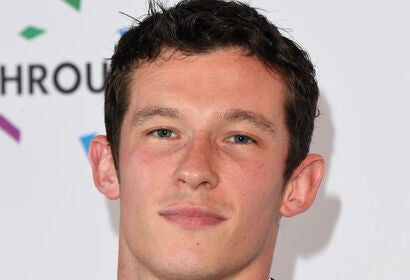 Actor Callum Turner, 2019