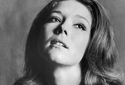 Actress Diana Rigg, Golden Globe nominee