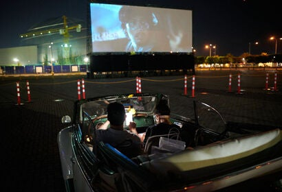 A drive-in in the Philippines