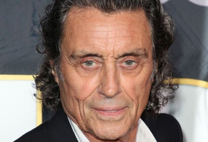 Actor Ian McShane, Golden Globe winner