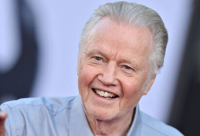 Actor Jon Voight, Golden Globe winner