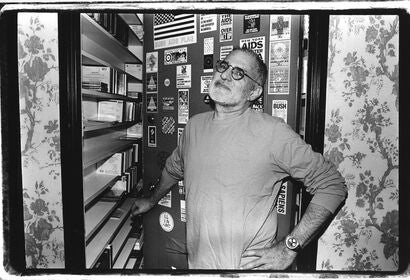 Writer, playwright and actvist Larry Kramer, in 1993