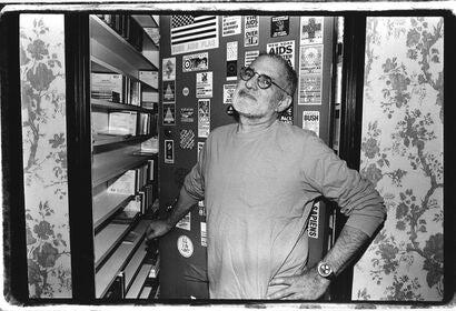 Writer, playwright and actvist Larry Kramer, in 1993