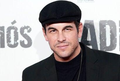 Spanish actor Mario Casas