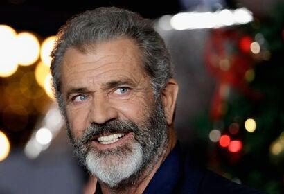 Actor and director Mel Gibson, Golden Globe winner