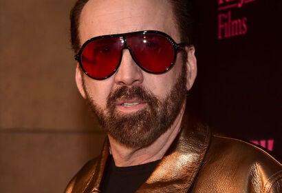 Actor Nicolas Cage, Golden Globe winner