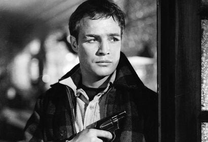 "A scene from ""On the Waterfront"", 1954"