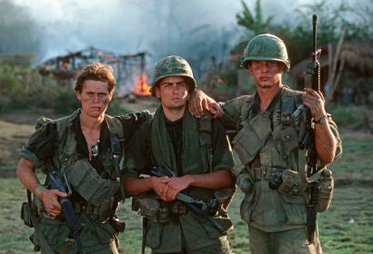 "A scene from ""Platoon"""