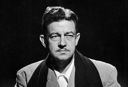 Filmmaker and dramatist Preston Sturges