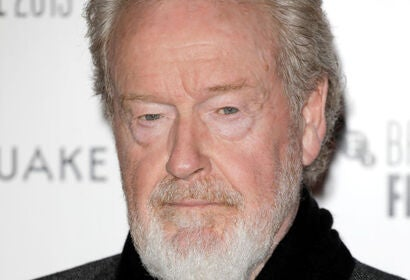 Filmmaker Ridley Scott, Golden Globe winner