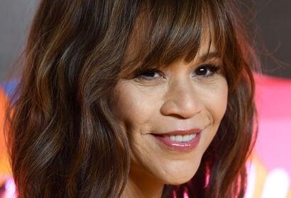 Actress Rosie Perez. Golden Globe nominee