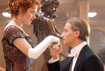 "A scene from ""Titanic"", 1997"