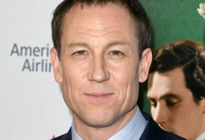 Actor Tobias Menzies, Golden Globe nominee