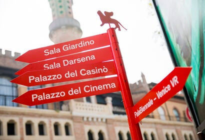 atmosphere at the Venice Film Festival