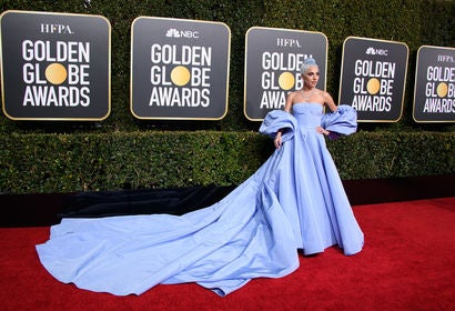 Lady Gaga a at the 2019 Golden Globes