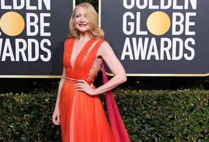 Patricia Clarkson at the 2019 Golden Globes