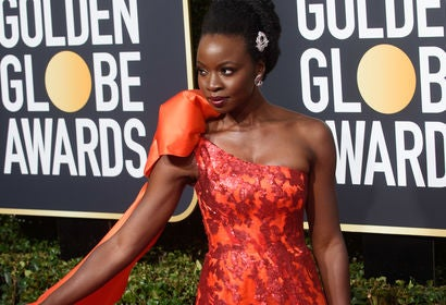 Danai Gurira at the 2019 Golden Globes
