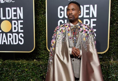 Billy Porter at the 2019 Golden Globes