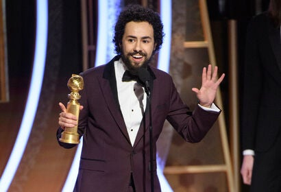 Actor and comedian Ramy Youssef, Golden Globe winner