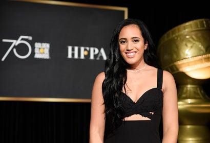 Golden Globe Ambassador 2018, Simone Garcia Johnson