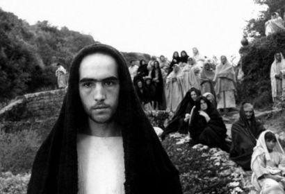 A scene from Pier Paolo Pasolini's The Gospel According to Matthew
