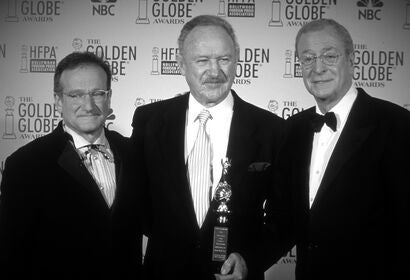 Gene Hackman, Golden Globe winner and Cecil B. deMille awrad recipient, in 2003