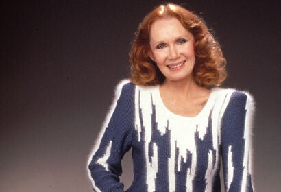 Actress and director Katherine Helmond. Golden Globe winner, and husband