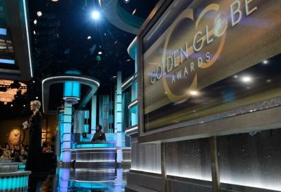 Meryl Streep accepts the Cecil B. deMille award at the 74th Golden Globes