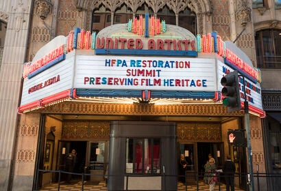 Restoration Summit at the Theatwer Ace Hotel, March 9 2019