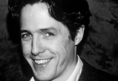 Actor Hugh Grant, Golden Globe winner