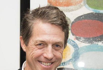 Actor Hugh Grant ,Golden Globe winner