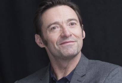 Actor Hugh Jackman, Golden Globe winner
