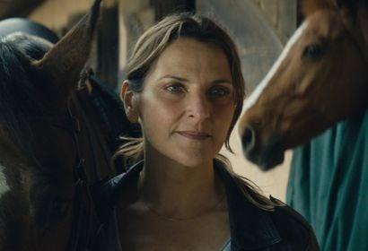 """Actress Antonia Zeger in teh film """"Los Perros"""""""