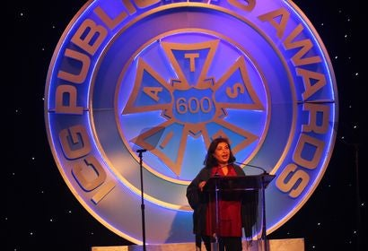 HFPA President Meher Tatna at the 55th Publicists Awards