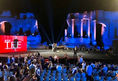Overviewof the closing of the Taormina Film Festival 2018