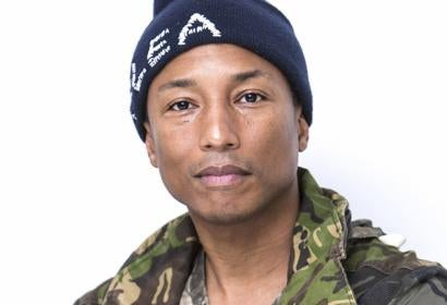 Musician and producer Pharrell Williams