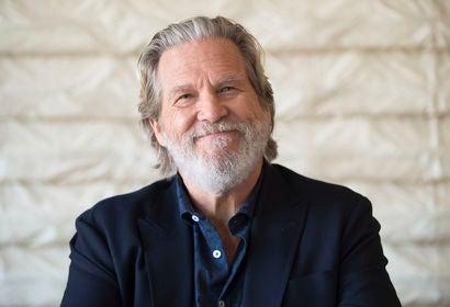 Actor Jeff Bridges, Golden Globe winner
