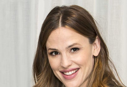 Actress Jennifer Garner, Golden Globe winner