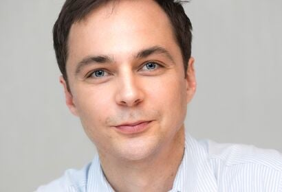 Actor Jim Parsons, Golden Globe winner