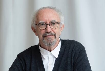 Actor Jonathan Pryce, Golden Globe nominee