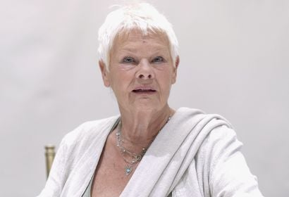 Judi Dench. Golden Globe winner