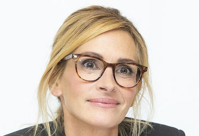 Actress Julia Roberts, Golden Globe winner
