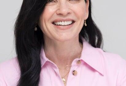 Actress Julianna Margulies, Golden Globe winner