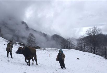 "A scene from ""Cold of Kalandar"", Turkey"