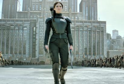 Jennifer Lawrence in  Hunger Games: Mockingjay part 2